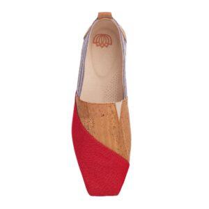 Najha - Nagror Red - high conscience sneaker