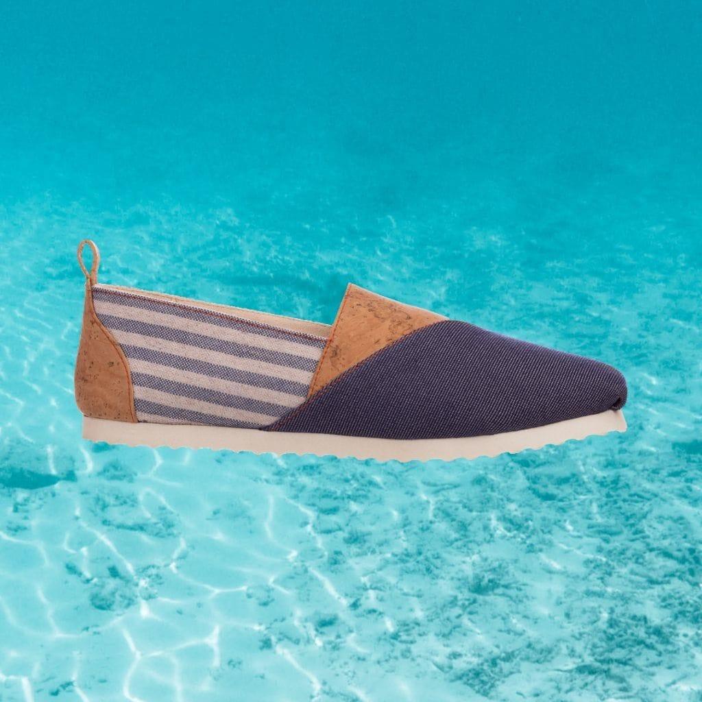 Najha - Nagror Blue - high conscience sneaker