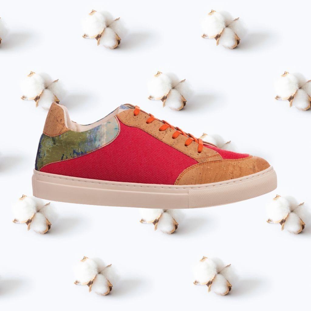 Najha - Nognana Red - high conscience sneaker